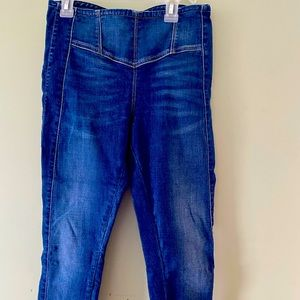Guess jeans zip up back good used condition